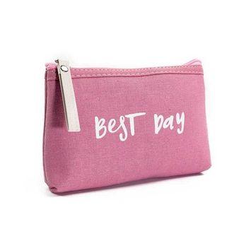 Comestic Bag, Sandistore 1PC Women Travel Make Up Cosmetic Pouch Bag Clutch Handbag Casual Purse