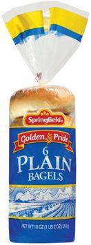 Springfield Plain 6 Ct Bagels