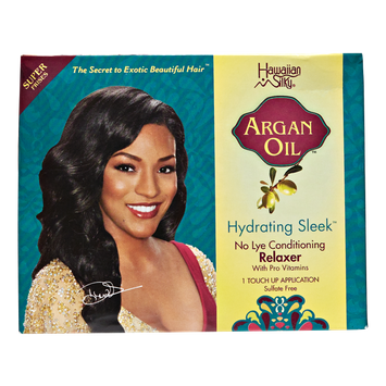 Hawaiian Silky Argan Oil Touch-Up Relaxer Kit Regular