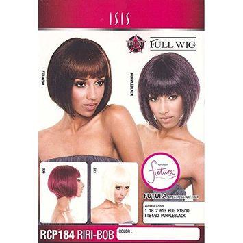 ISIS Red Carpet Full Wig RCP184 RIRI BOB (Color Purpleblack)