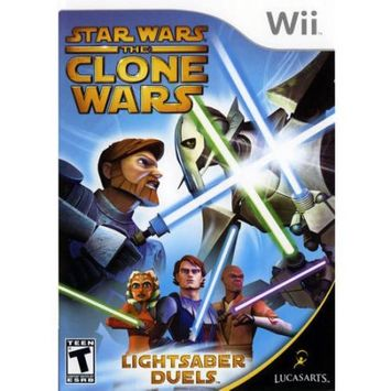 Krome Studios Sw Clone Wars Lightsaber (Wii) - Pre-Owned