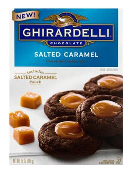 Ghirardelli Premium Cookie Mix Salted Caramel