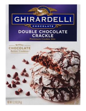 Ghirardelli Premium Cookie Mix Double Chocolate Crackle