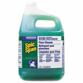 Spic and Span Liquid Floor Cleaner, 1 gal. Bottle - three 1 gal. bottles of liquid floor cleaner.