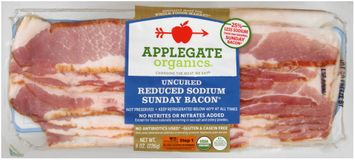 Applegate Organics® Uncured Reduced Sodium Sunday Bacon®