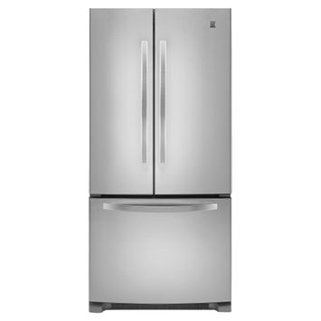Kenmore 21.9 cu. ft. French-Door Bottom-Freezer Refrigerator w/Internal Dispenser - Stainless Steel