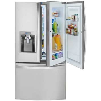 Kenmore Elite 24 cu. ft. Counter Depth Bottom Freezer Refrigerator w/ Grab N Go Door - LG ELECTRONICS U.S.A, INC.