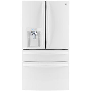 Kenmore Elite 30 cu. ft. 4 Door Bottom Freezer Refrigerator w/Dispenser - LG ELECTRONICS U.S.A, INC.