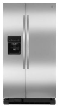 Kenmore 25.4 cu. ft. Side-by-Side Refrigerator - Stainless Steel