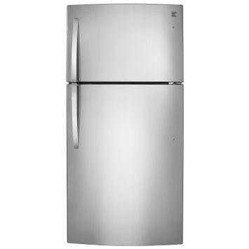 Kenmore 24 cu. ft. Top-Freezer Refrigerator - Stainless Steel