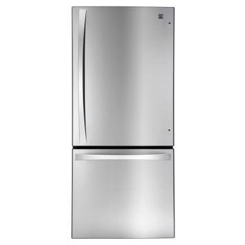Kenmore Elite 22 cu. ft. Bottom-Freezer Refrigerator Stainless Steel