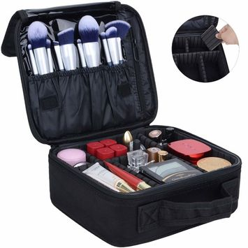 Portable Travel Makeup Cosmetic Bag Organizer Multifunction Case for Women (Color28)