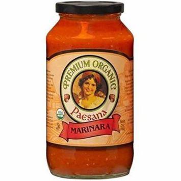 Paesana Organic Pasta Sauce Marinara Case of 6 25 oz.