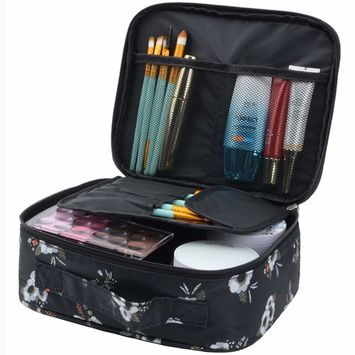 MKPCW Travel Toiletry Bag makeup bag Portable cosmetic Pouch Waterproof Travel Hanging Organizer Bag for Women Men