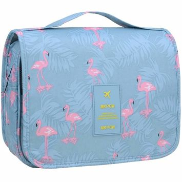 Hanging Travel Toiletry Bag cute makeup bag Portable cosmetic Pouch Waterproof Organizer case toiletries accessories beauty hygiene shower Bag for Women Girls Men