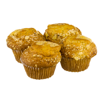 Jonathan Lord Lemon Poppy Muffin - 4 CT