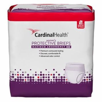Cardinal maximum absorbency flexright protective underwear for women, large/extra large, 45 - 58