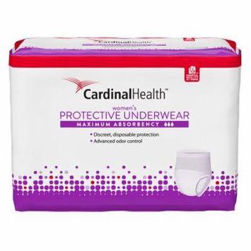 Cardinal maximum absorbency protective underwear for women, medium, 32 - 44