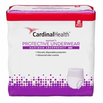 Cardinal maximum absorbency protective underwear for women, extra large, 58 - 68
