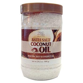 Dead Sea Collection Bath Salt with Coconut Oil to Moisturize and Nourish 34.2 oz