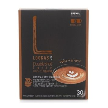 French Cafe Namyang LOOKAS 9 Double Shot Latte (447g/14.9g x 30sticks)