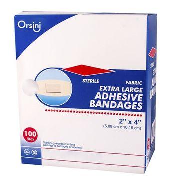 Orsini Sterile Flexible Fabric Adhesive Bandages, 2