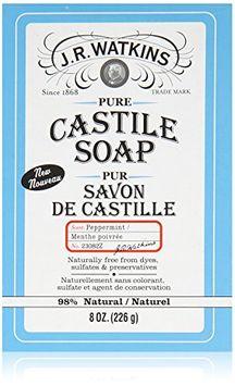 J.R. Watkins Pure Castile Bar Soap