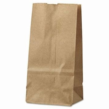 General 2# Paper Bag, 30-lb Base Weight, Kraft, 4-5/16x2-7/16x7-7/8 (BAGGK2500)