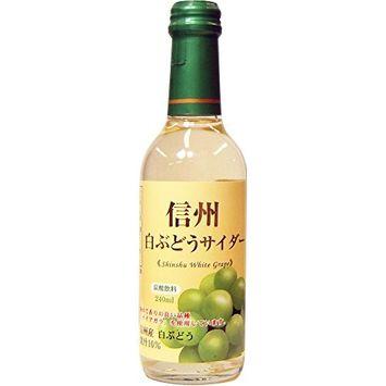 240mlX20 this Kimura beverage Shinshu white grape cider