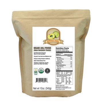 Anthony's Organic Amla Powder (Indian Gooseberry Powder)