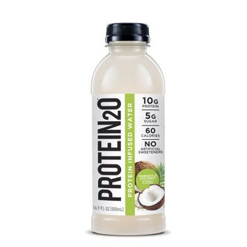 Protein2o Low-Calorie Whey Protein Drink, Kawaiola;Coconut,16.9 Ounce (Pack of 12)
