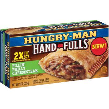 Hungry-Man® Hand-Fulls Fillin' Philly Cheesesteak Frozen Sandwich