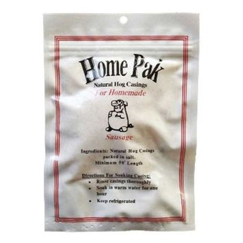 Natural Hog Casings for Sausage - Home Pack - 32mm to 35mm - Quality Brand Casings