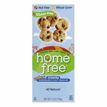 Homefree Crunchy Chocolate Chip Mini Cookies, 5 Oz (Pack of 6)
