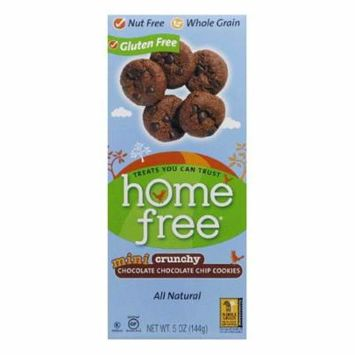 Homefree Crunchy Mini Chocolate Chocolate Chip Cookies, 5 Oz (Pack of 6)