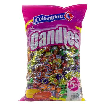 Colombina Fruticas Assorted Flavors Fruit Filled Hard Candy 80 oz