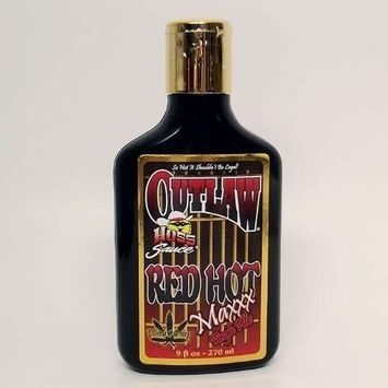Outlaw RED HOT 6xxx Tanning Lotion By Hoss Sauce