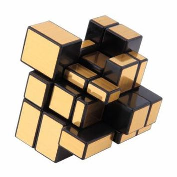 3x3x3 Compact and portable Mirror Blocks Silver Shiny Magic Cube Puzzle Brain Teaser IQ Kid Funny Worldwide Great gift