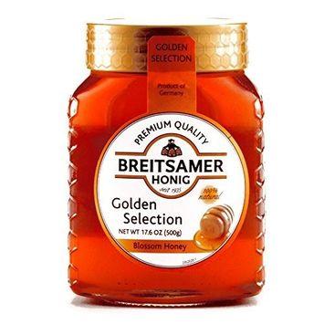 Breitsamer Golden Honey 17.6 oz each (5 Items Per Order)