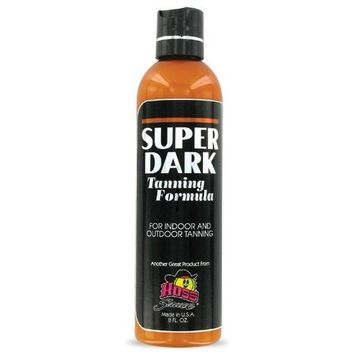 Super Dark Tanning Lotion   Maximizer   From Hoss Sauce Tanning Products 8oz