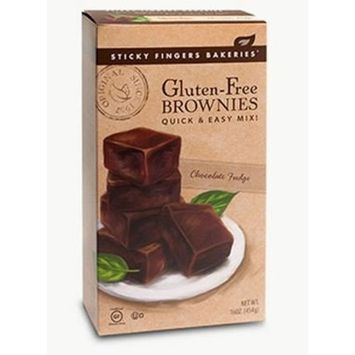 Gluten-Free Chocolate Fudge Brownies 16 oz.