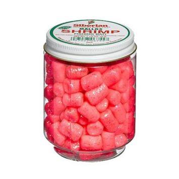 Atlas Mike's Jar of Siberian Shrimp Glitter Marshmallow Salmon Fishing Bait Eggs, Red