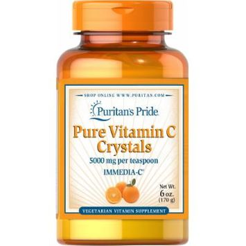 Puritan's Pride Vitamin C Crystals 5,000 mg-6 oz Crystals