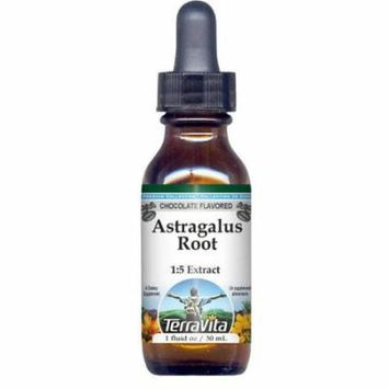 Astragalus Root Glycerite Liquid Extract (1:5) - Chocolate Flavored (1 oz, ZIN: 522075) - 2-Pack