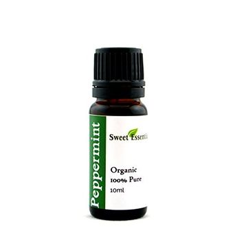 Premium Organic Peppermint Essential Oil   Imported From France - 100% Pure   Undiluted Therapeutic Grade   Aromatherapy   Perfect for Diffusers   Mentha Piperita (10ml)