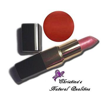 Christina's Natural Qualities All Natural Moisturizing Lip Stick - Provocative (Brick Red Lipstick)