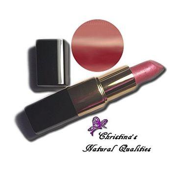 Christina's Natural Qualities All Natural Moisturizing Lip Stick - Sugar & Spice (Medium Pink Brown)