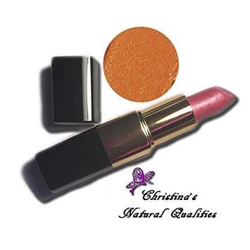 Christina's Natural Qualities All Natural Moisturizing Lip Stick - Harvest Moon [Salmon Brown lipstick with Orange Undertone]