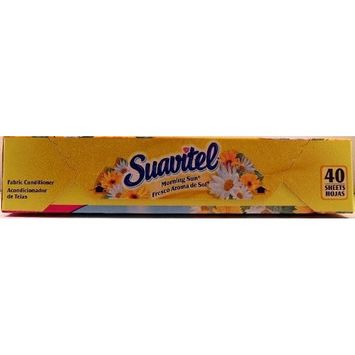 Suavitel Morning Sun Dryer Sheets 40 Count