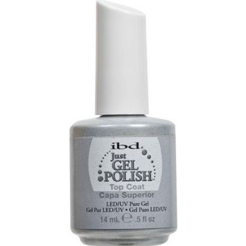 IBD Just Gel Nail Polish Top Coat, 0.5 Fluid Ounce